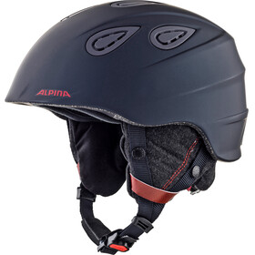 Alpina Grap 2.0 L.E. Ski Helmet nightblue-bordeaux matt